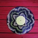Retro Recycled Vinyl Record..