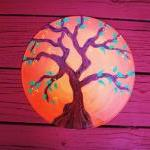 Orange Tree. Recycled Vinyl..